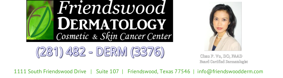 FRIENDSWOOD DERMATOLOGY (281) 482- 3376